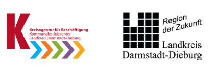 Logo Kreisagentur und Landkreis Darmstadt-Dieburg