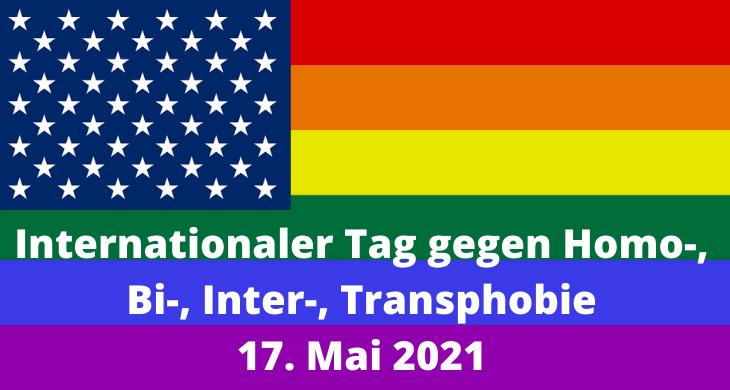 Internationaler Tag gegen Homo-, Bi-, Inter-, Transphobie