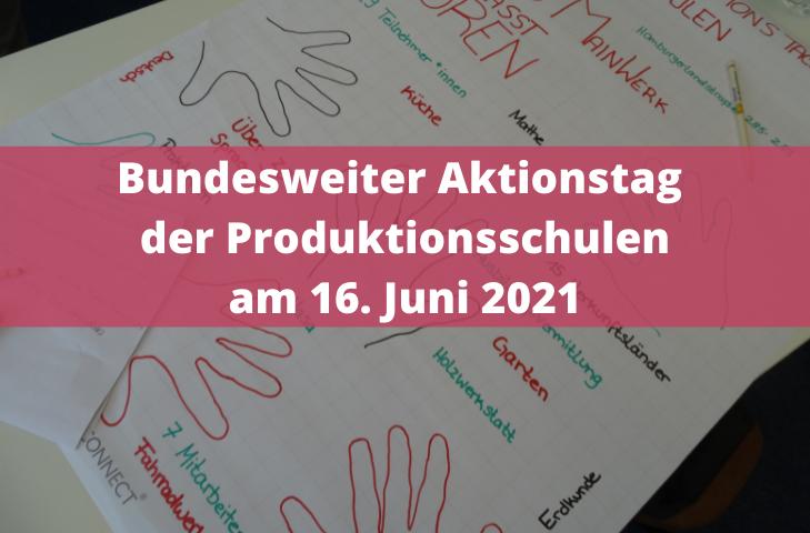 Bundesweiter Aktionstag der Produktionsschulen